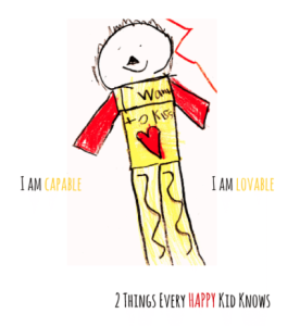 I am capable I am lovable  pos self talk for kids may 29 2015
